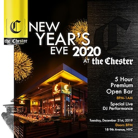 The Chester at The Gansevoort Meatpacking NYE 2020