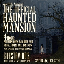 Guastavino's Halloween 10/31