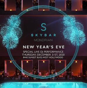 Skybar at Mondrian Hotel
