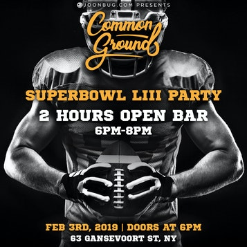 Common Ground - Super Bowl Party