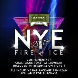 McFadden's NYE Fire & Ice Party