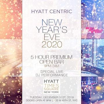 Hyatt Centric Bar 54 Times Square