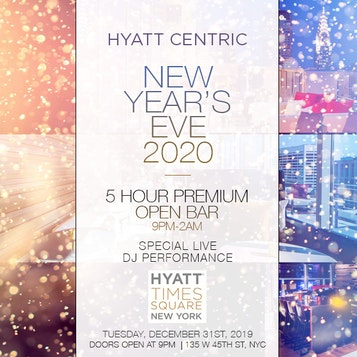 Hyatt Centric Bar 54 Times Square