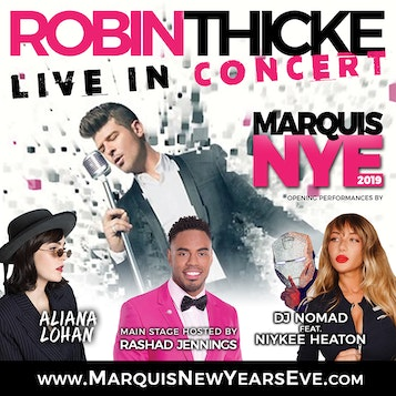 Marriott Marquis New Year's Eve VIP Party
