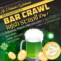 Indianapolis St Patrick's Bar Crawl Day 1