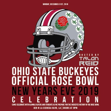 Ohio State Buckeyes Official Rose Bowl NYE Celebration