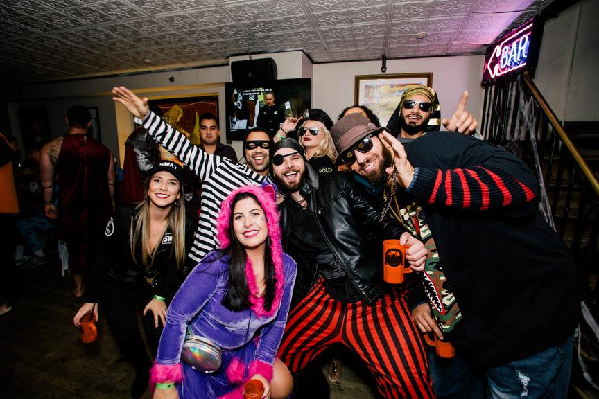 DC Halloween Bar Crawl Dupont Circle 10/30